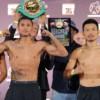Berchelt and Miura Both Make Weight!!