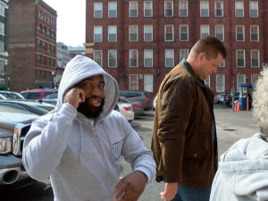 Broner Leaving Court