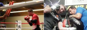 Canelo vs Smith Training